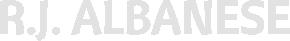 R.J. Albanese Logo